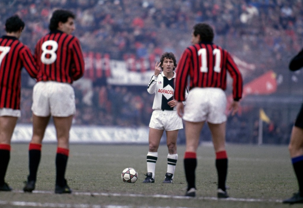 Zico in Serie A