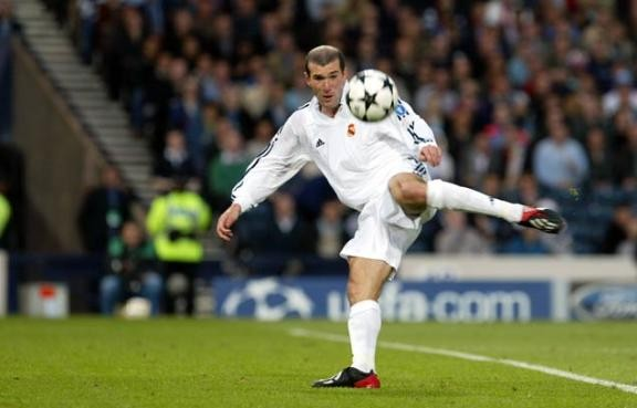 Zidane fantasista Real Madrid