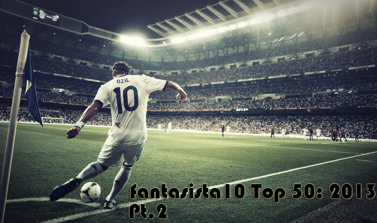 playmaker Ozil number 10