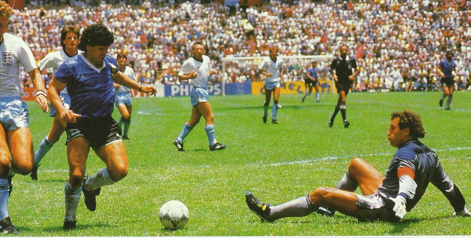 World Cup 1986 goal