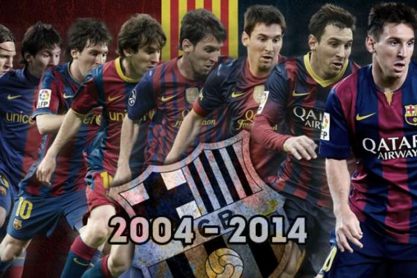 10 years Barcelona number 10