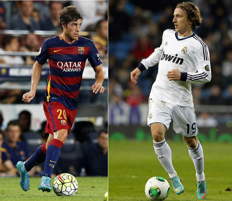 barcelona real madrid midfield