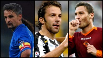 Calcio greatest forwards