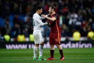 Roma Real Madrid Number 10