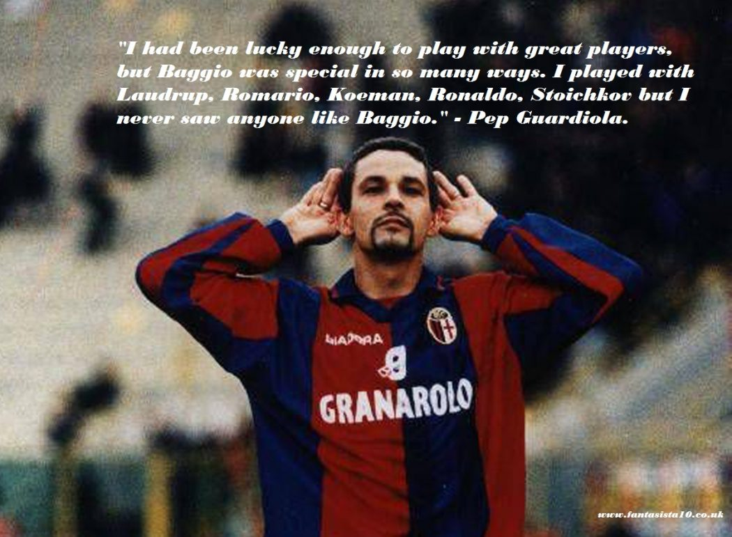 ae2534a11 The Impossible Made Possible  50 Quotes on Baggio